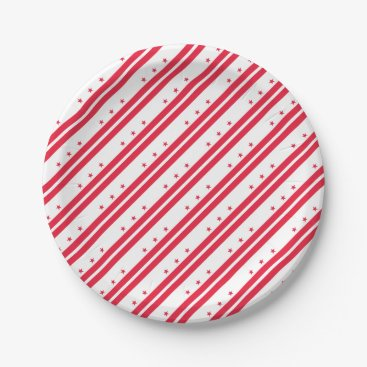 USA Themed District of Columbia Paper Plate
