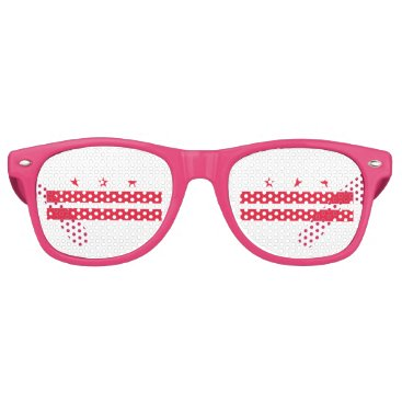 USA Themed District of Columbia Retro Sunglasses