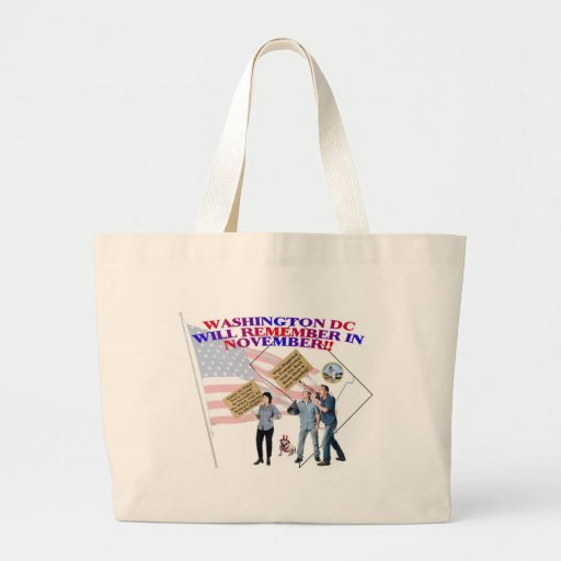 District Of Columbia Return Congress To The People Bags
