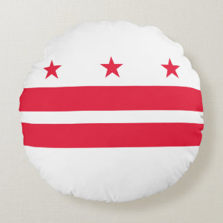 District of Columbia Round Pillow