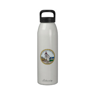 District of Columbia Seal Reusable Water Bottles