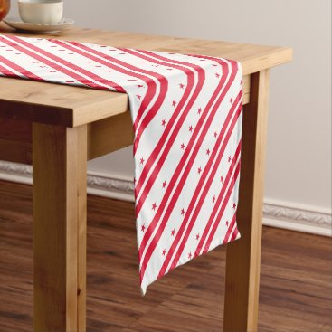 USA Themed District of Columbia Short Table Runner