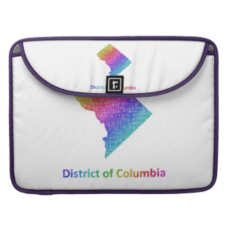 District of Columbia Sleeve For MacBook Pro