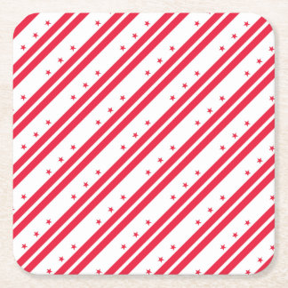 District of Columbia Square Paper Coaster