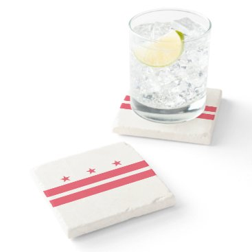 USA Themed District of Columbia Stone Coaster
