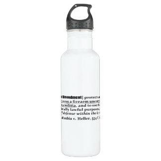 District of Columbia v Heller, 554 U.S. 570 2008 24oz Water Bottle