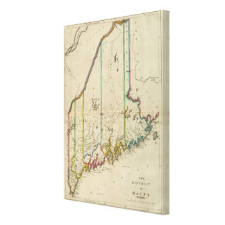 District of Maine Gallery Wrapped Canvas
