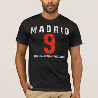 Distrito 9 de Madrid Playera