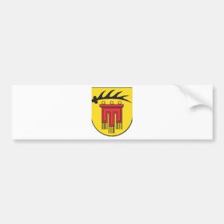 Distrito administrativo Böblingen escudo de armas Etiqueta De Parachoque