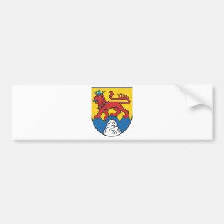 Distrito administrativo Calw escudo de armas Pegatina De Parachoque