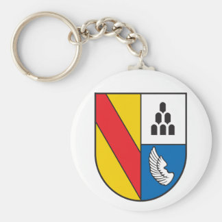 Distrito administrativo Emmendingen escudo de Llavero Redondo Tipo Pin