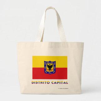 Distrito Capital Flag with Name Tote Bag