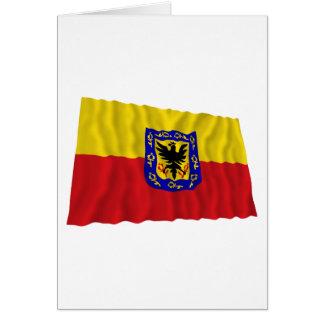 Distrito Capital Waving Flag Card