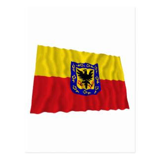 Distrito Capital Waving Flag Post Card
