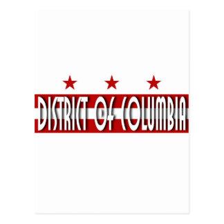Distrito de Columbia Postales