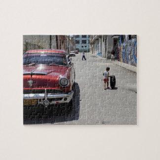 Distrito de Hamel del africano, La Habana, Cuba, l Puzzle