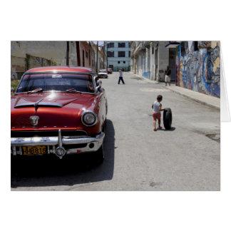 Distrito de Hamel del africano, La Habana, Cuba, l Tarjeta De Felicitación