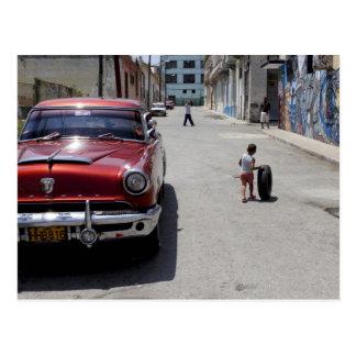 Distrito de Hamel del africano, La Habana, Cuba, Tarjeta Postal