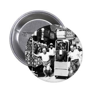 distrito de la ropa de los años 50, foto de New Yo Pin Redondo De 2 Pulgadas