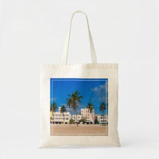 Distrito del art déco de la playa del sur Miami Bolsa Tela Barata