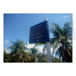 distrito del art déco de Miami Tarjeta