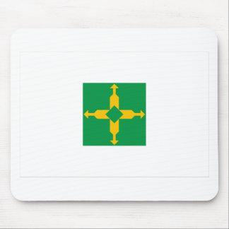 Distrito Federal, Brazil Flag Mouse Pad