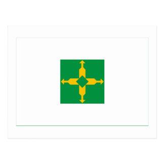 Distrito Federal, Brazil Flag Postcards