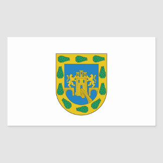 Distrito Federal, D.F./DF, Mexico City Flag Rectangular Sticker