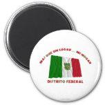 Distrito federal - la O.N.U Lugar… MI Hogar de Más Imán Redondo 5 Cm