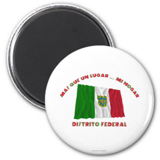 Distrito federal - la O.N.U Lugar… MI Hogar de Más Imán De Frigorifico