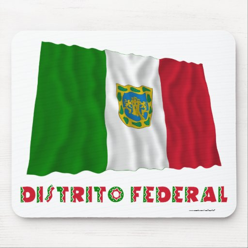 Distrito Federal Waving Unofficial Flag Mouse Pad