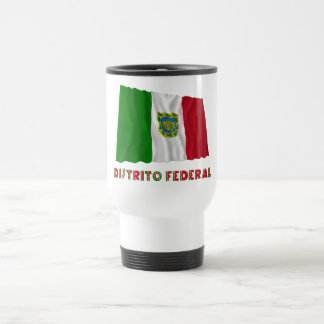 Distrito Federal Waving Unofficial Flag 15 Oz Stainless Steel Travel Mug