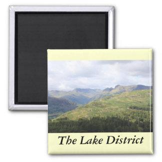 Distrito inglés del lago imanes para frigoríficos