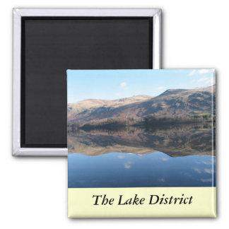 Distrito inglés del lago imán cuadrado