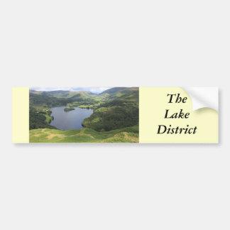 Distrito inglés del lago pegatina para auto