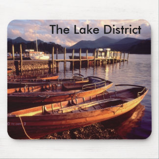 Distrito Mousemat del lago Mouse Pads