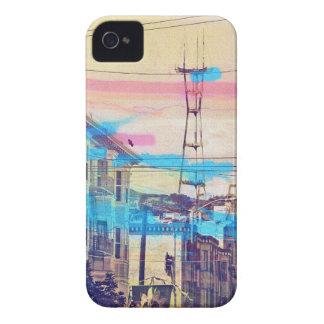 distrito San Francisco de la misión de los iPhone 4 Case-Mate Funda