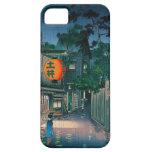 Distrito Tsuchiya Koitsu de Ushigome Kagurazaka Funda Para iPhone SE/5/5s