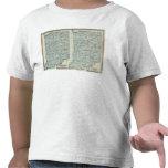 Distritos judiciales Indiana de los distritos Camiseta