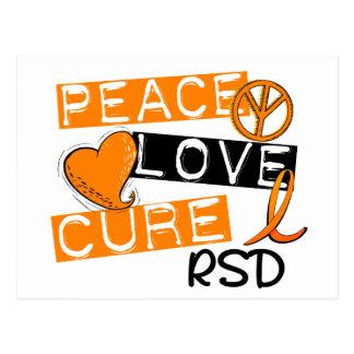 Distrofia comprensiva refleja de la curación RSD Postal