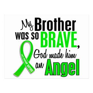Distrofia muscular Brother del ángel 1 Tarjetas Postales