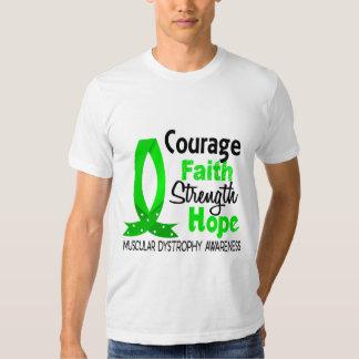 Distrofia muscular de la esperanza de la fuerza de remera