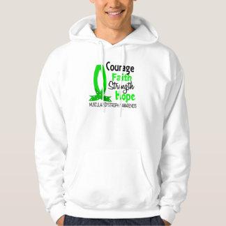 Distrofia muscular de la esperanza de la fuerza de suéter con capucha