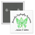 Distrofia muscular de la mariposa 6,1 del tatuaje  pin