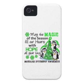 Distrofia muscular de los pingüinos del navidad iPhone 4 protectores