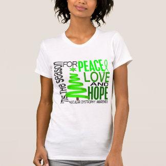 Distrofia muscular del navidad de la esperanza del camisetas