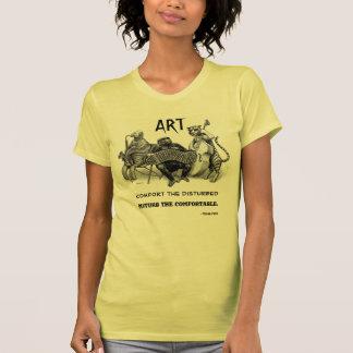 """Disturb the Comfortable"" Art T-Shirt"