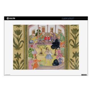 """Disturbance by a madman at a social gathering, fro 15"""" laptop skin"""