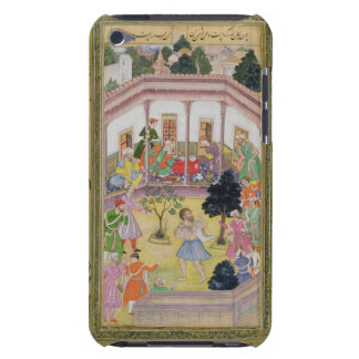 Disturbance by a madman at a social gathering, fro iPod touch cover
