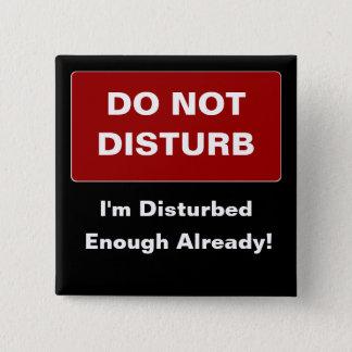 Disturbed Button